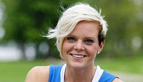 Hanna-Maari Latvala oli 100 metrin finaalin kolmas.