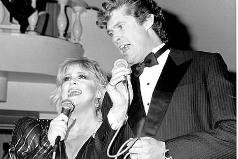 Marion Rungin kanssa 1987.