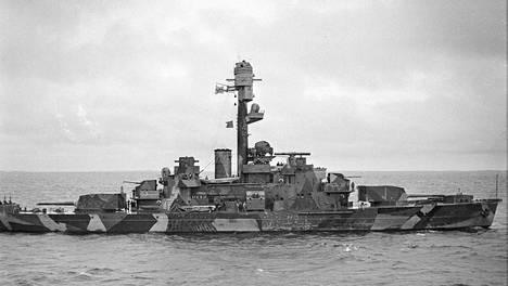 Panssarilaiva Ilmarinen upposi syyskuussa 1941.