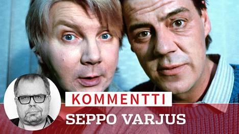 Pirkka-Pekka Petelius ja Aake Kalliala olivat aikoinaan erottamaton komediapari. Nyt Petelius pyytää vanhoja saamelaissketsejä anteeksi, Kalliala ei.