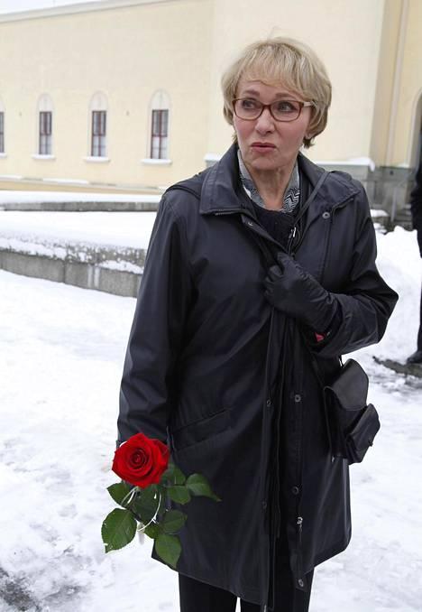 Inga Sulin näytteli tv-sarjassa Antti Majanlahden roolihahmon äitiä. –Muistamme Anttia joka päivä, Inga Sulin sanoo.