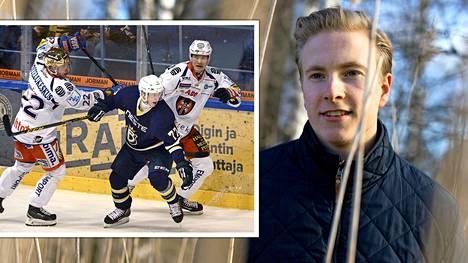 Ex-jääkiekkoilija Janne Puhakka kertoi homoudestaan noin puoli vuotta sitten Helsingin Sanomissa.