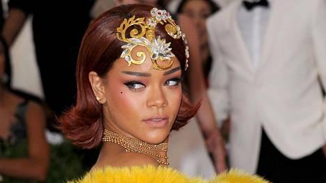 Rihanna pelkäsi naurunalaiseksi joutumista hyväntekeväisyysgaalassa.