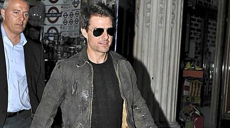 Tom Cruise on laihtunut eron jälkeen.