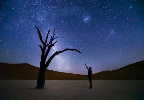 Deadvlein aavikko sijaitsee Namibiassa.