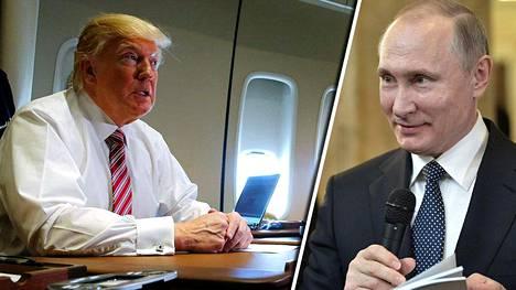 Donald Trump ja Vladimir Putin saattavat pitää puhelinkeskustelun lauantaina.