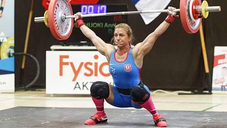 Anni Vuohijoki ei päässyt Tokion olympialaisiin.