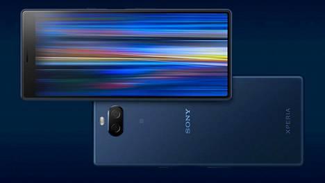 Sonyn keskiluokan puhelimessa on valtavirrasta poikkeava 21:9-luvasuhtene näyttö ja kamera.