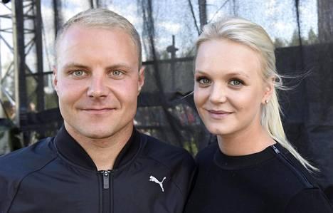 Valtteri ja Emilia Bottas.