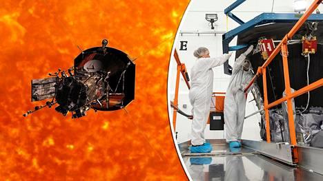 Nasan mukaan Parker-luotain tekee ihmiskunnan historiaa. Auringon korona on pitkään ollut tieteilijöiden tutkimusten tavoittamattomissa sen kuumuuden vuoksi.