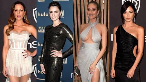 Elokuva- ja televisiomaailman kuumimmat tähdet juhlivat Golden Globe -gaalaa sunnuntai-iltaisilla jatkoilla.