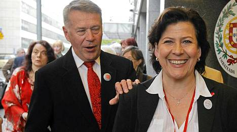 Hilkka ja Matti Ahde ovat olleet naimisissa vuodesta 1977.