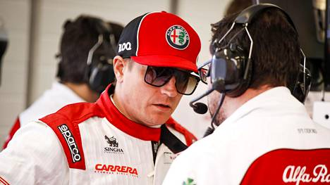 Kimi Räikkönen ei stressaa koronaviruksen vuoksi.