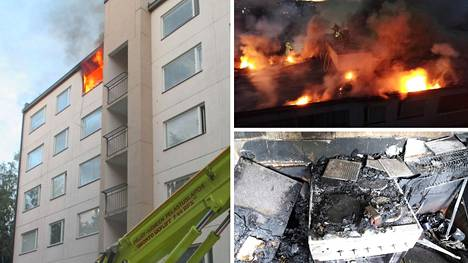 Tulipalo käynnistyi yksin asuvan naisen asunnosta heinäkuisena sunnuntai-iltana. Naisen oma asunto tuhoutui täysin ja taloyhtiön 70 asunnosta 22 vaurioitui.