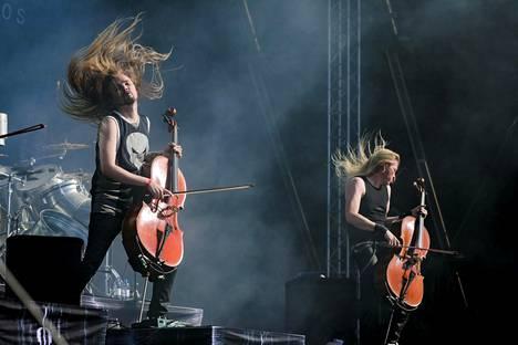 Apocalyptica esiintyi Tuska-festivaaleilla viime kesänä.