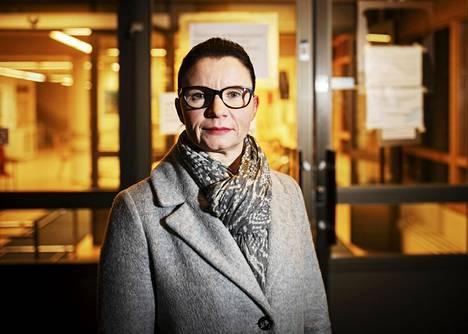 Tampereen sosiaali- ja terveyspalvelujen johtaja Taru Kuosmanen.