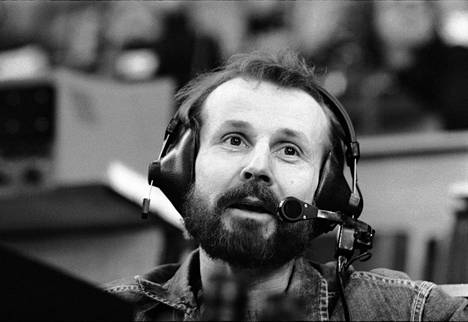 Raimo Häyrinen jääkiekon MM-kisoissa Puolassa huhtikuussa 1976.