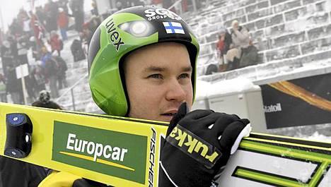 Janne Ryynänen on mäkiosuuden jälkeen kuudentena.