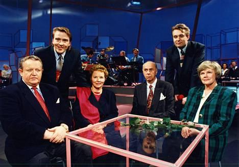 Vuoden 1994 presidentinvaaleja käytiin myös viihdeohjelmassa.