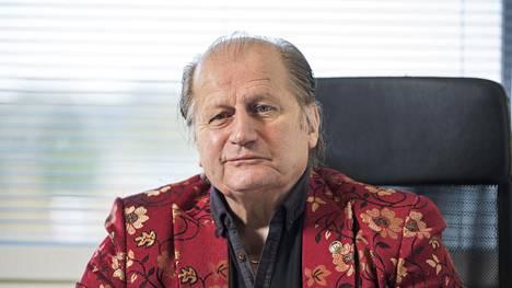 Juhani Tamminen juhli 70-vuotissyntymäpäiväänsä viime vuonna.