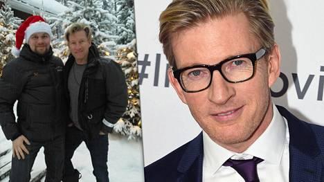 –Janne järjesti meille unohtumattoman loman, näyttelijä David Wenham (oik.) hehkutti vierellään Luxury Action -yrittäjä Janne Honkanen.