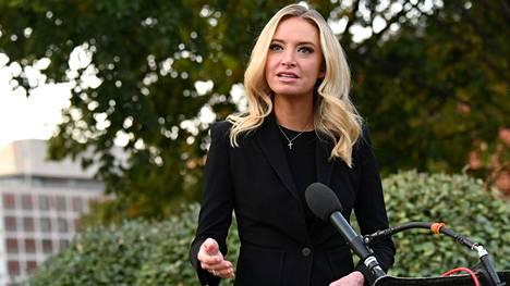 Presidentti Donald Trumpin lehdistösihteeri Kayleigh McEnany.