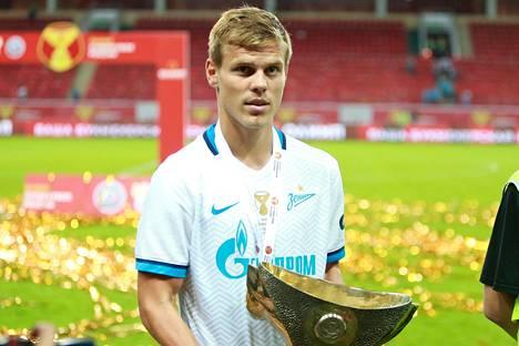 Aleksandr Kokorinin piti olla tällä kaudella tärkeä osa mestaruutta janoavan Pietarin Zenitin joukkuetta.