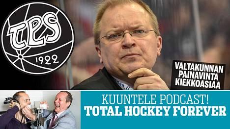 TPS:n päävalmentajalla Kalle Kaskisella riittää miettimisen aiheita.