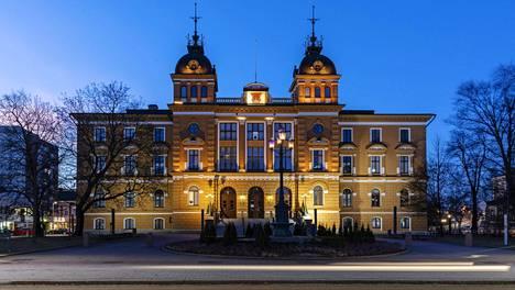 Oulun kaupungintalo kuvattuna 9.1.2020.