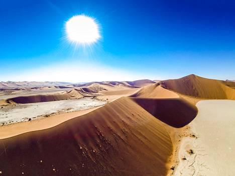 Namibian suosio on noussut, kertoo Aventuran tuotantopäällikkö Kari Heimonen.