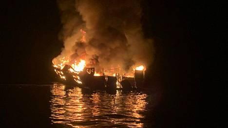 Conceptionin palo vaati 34 ihmisen hengen.