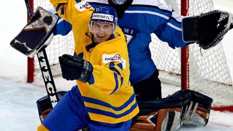 Huselius voitti peliurallaan kolme MM-pronssia. Lauantaina ei voittoa tullut.