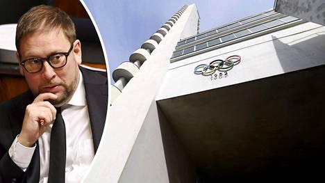 Paavo Arhinmäki kummeksuu keskustelua Helsingin Olympiastadionin tulevasta käytöstä.