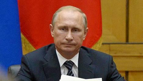 Vladimir Putin on Krimillä kaksipäiväisellä vierailulla.