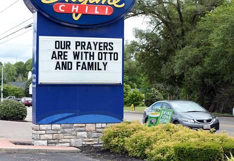Warmbierin perhe on saanut paljon tukea kotiseudullaan Ohiossa.