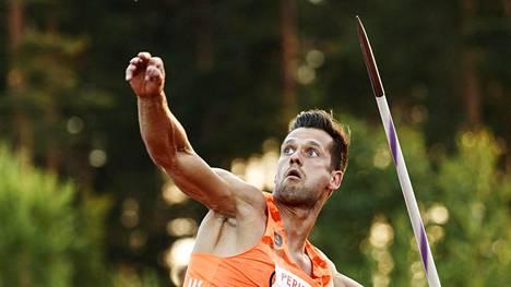 Viron keihästähti rikkoi ennätyksen Timanttiliigassa – voitti kisan ja Saksan tähdet