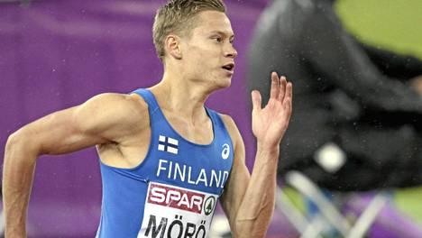 Viime kesän EM-finaalissa juossut Oskari Mörö avasi eilen kautensa komeasti.