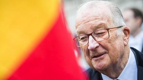 Belgian entinen kuningas Albert II kuvattiin Brysselissä 15. marraskuuta 2017.