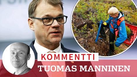 Kommentti: Ihmistaimet istuttamaan taimia eli kuinka Juha Sipilä keksi pyörän uudelleen
