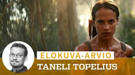 Peleistä tutun seikkailijasankari Lara Croftin roolissa nähdään ruotsalainen Alicia Vikander.