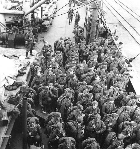 SS-pataljoona palasi Suomeen kesäkuussa 1943 ja lakkautettiin.