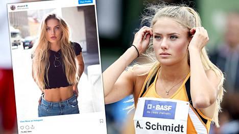 Alica Schmidtin tavoitteena ovat ensi kesään siirretyt Tokion olympialaiset.