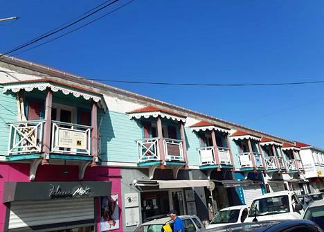 Sint Maartenin saaren pääkaupunki Philipsburg on yksi niistä satamista, joissa Mimer käy Karibian saaria kierrellessään.