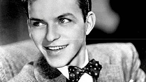 Frank Sinatra nuorena.