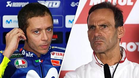 "Honda-pomo sohaisi ampiaispesää kommenteillaan MotoGP-legenda Valentino Rossista: ""Hänen aikansa on mennyt"""