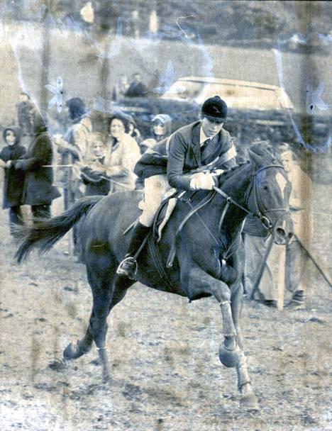 Prinsessa kilpaili Montrealin olympialaisissa vuonna 1976.