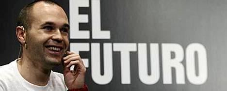 Andres Iniesta luuli olleensa paitsiossa, kun hän laukoi finaalin voittomaalin.