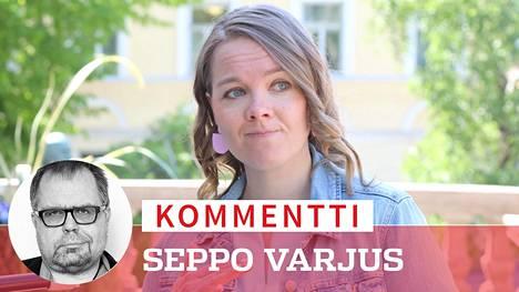 Katri Kulmuni on hankalassa tilanteessa, koska keskusta on hankalassa tilanteessa.