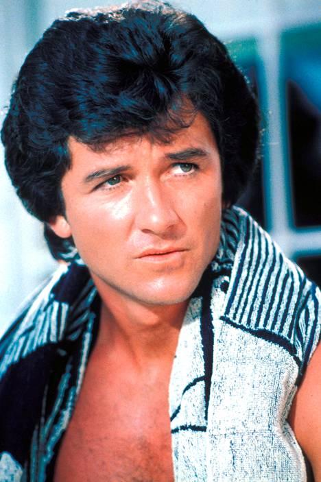 Patrick Duffy Dallasin Bobbyna sarjan alussa 1980-luvun alussa.