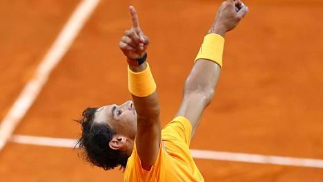 Nadal voitti Rooman Masters-turnauksen – palaa maailmanlistan kärkeen